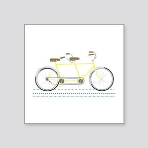 Tandem Bicycle Sticker