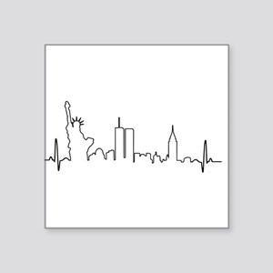 New York Heartbeat Sticker