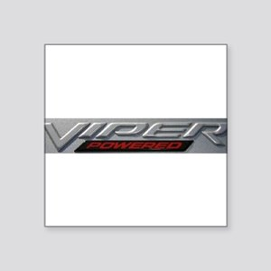 "Viper Square Sticker 3"" x 3"""
