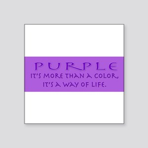 purplewaybumper Sticker