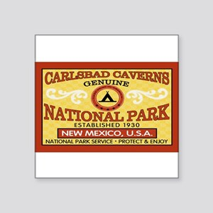 Carlsbad Caverns National ParRectangle Sticker
