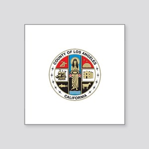 LOS-ANGELES-COUNTY-SEAL Rectangle Sticker