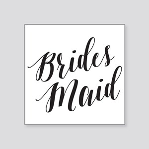 Elegant Script Bridesmaid Sticker