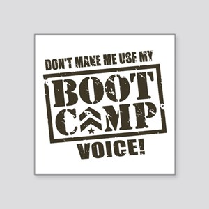 Bootcamp Voice Sticker