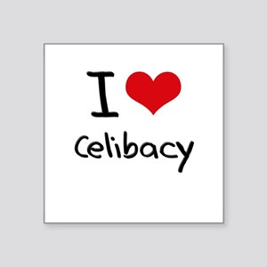 I love Celibacy Sticker