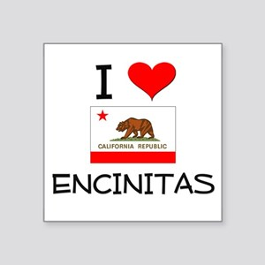 I Love Encinitas California Sticker