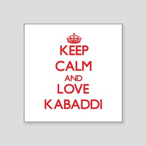 Keep calm and love Kabaddi Sticker