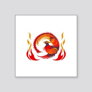PHOENIX RISING FROM FLAMES Sticker