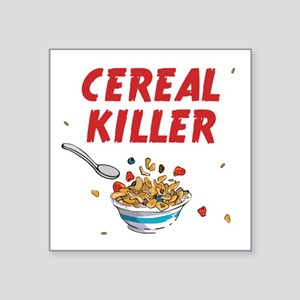 Breakfast Cereal Killer Sticker