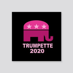 "Trumpette 2020 Square Sticker 3"" x 3"""