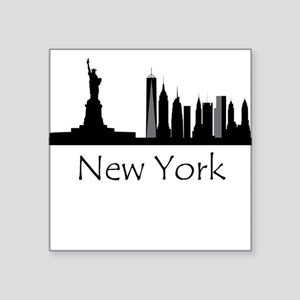 New York City Cityscape Sticker