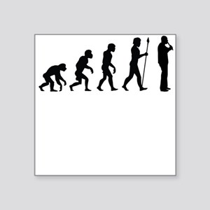 Recorder Player Evolution Sticker