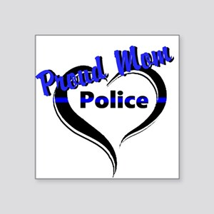 Proud Police Mom Sticker