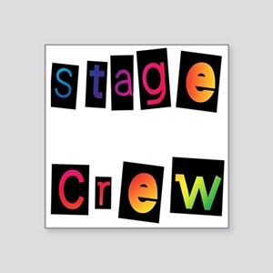 "stage Square Sticker 3"" x 3"""