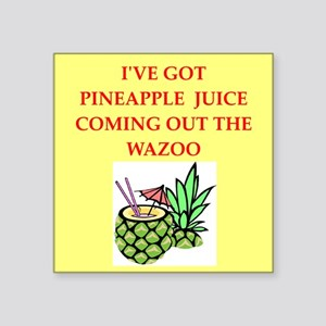 pineapple juice Sticker