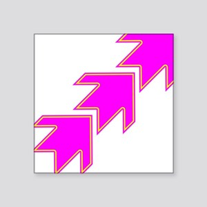 Pink Arrows Sticker