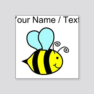 Custom Cartoon Bee Sticker
