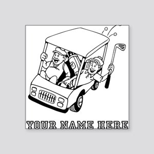 Funny Golf Cart Stickers Cafepress