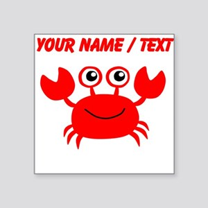 Custom Red Crab Sticker