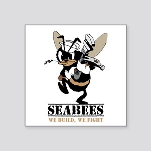 USN Seabees Sticker