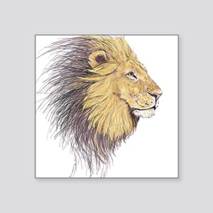 Lions Head Sticker