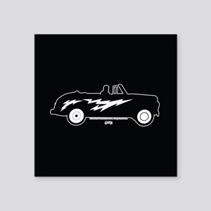 "Grease Lightning Car Square Sticker 3"" x 3"""