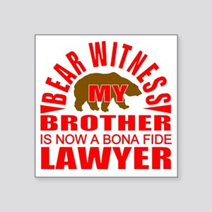 lawyer brother Sticker