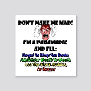 Paramedic Square Sticker