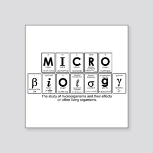 MICROBIOLOGY Square Sticker