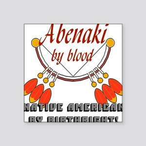 """Abenaki"" Square Sticker"