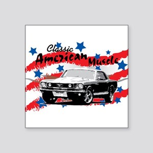 classic-muscle Sticker