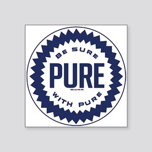 pure oil Sticker