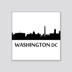 Washington DC Cityscape Skyline Sticker