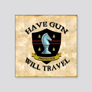 "havegun_mousepad Square Sticker 3"" x 3"""