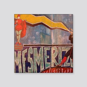 "Mezmerized Square Sticker 3"" x 3"""
