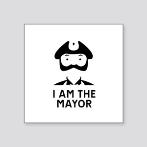 I am the Mayor of Trumpton Sticker