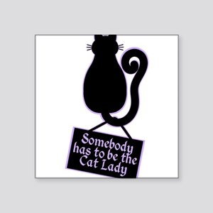 Cat Lady Sticker
