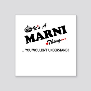 MARNI thing, you wouldn't understand Sticker