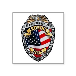 Police To Protect and Serve Sticker