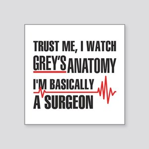 Greys Anatomy Trust me Sticker