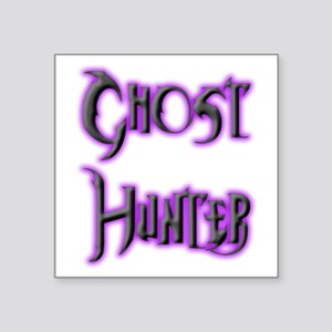 "Ghosthunter 10 Square Sticker 3"" x 3"""