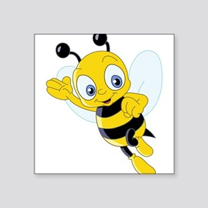Jumping Bee Sticker