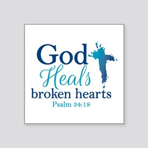 Heal A Broken Heart Stickers - CafePress