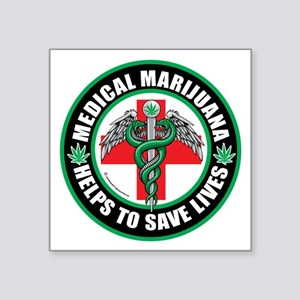 Medical-Marijuana-Helps-Saves-Lives Sticker