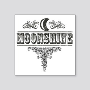 "Moonshine Square Sticker 3"" x 3"""