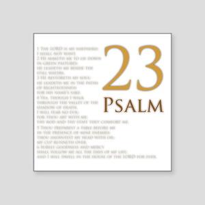 Psalm 23 Stickers - CafePress