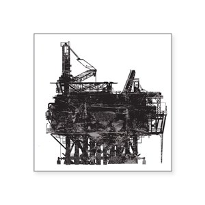 cheap for discount 069d0 835c8 Oil Rig Stickers - CafePress