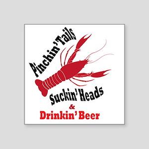 5639445e Crawfish Boil Stickers - CafePress