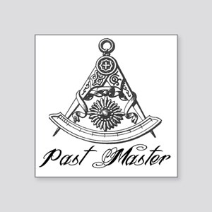 Past Master Masonic Stickers - CafePress