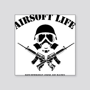 "Airsoft Life Square Sticker 3"" x 3"""